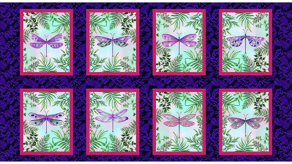 Dragonfly panels