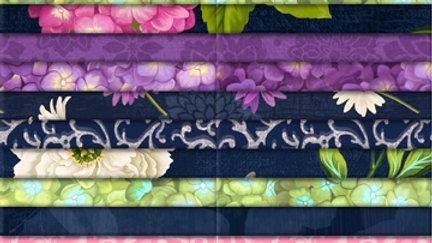 "Floral Serenade 10"" squares"