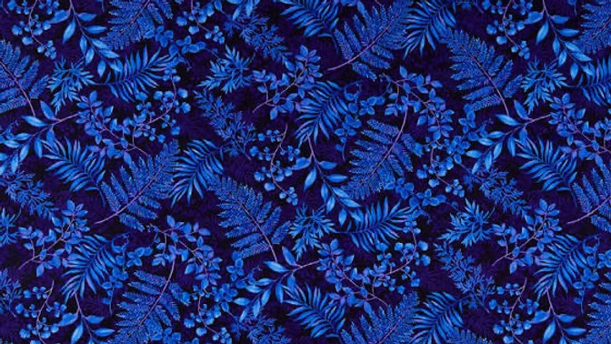 Dragonfly Garden blue