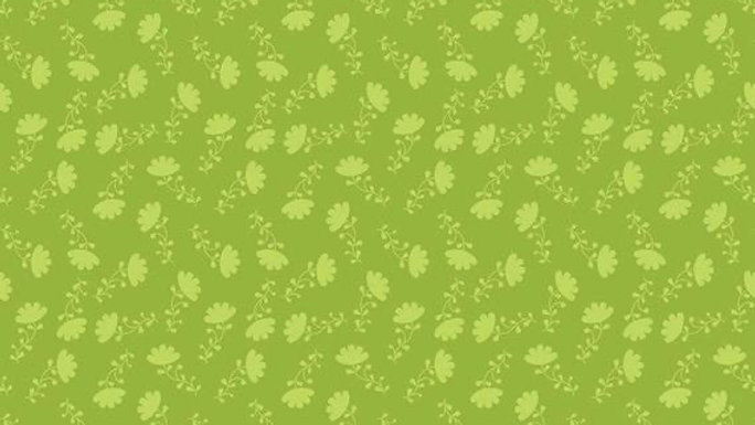Lucy's Garden tonal green