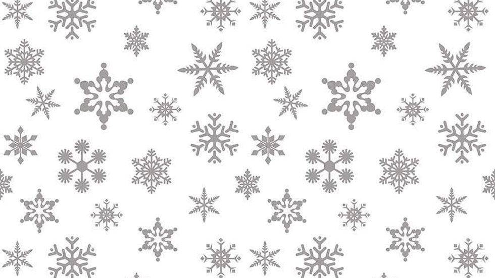 Snowflake Silver Sparkle