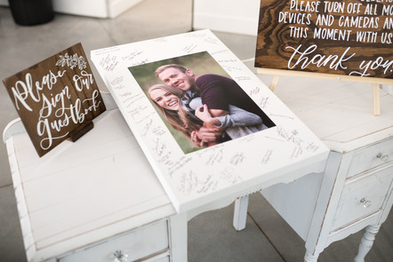 Guestbook Sign and Unplugged Ceremony Sign