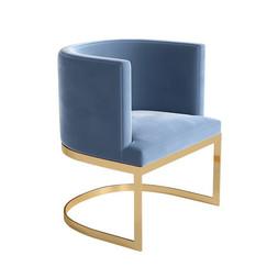 Кресло ArtHomeDecor SAN FRANCISCO ID-86 Gold&Blue