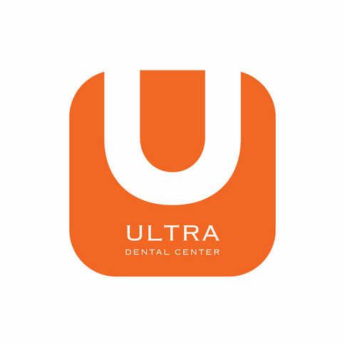 Ultra Dental Center Logo - Orange