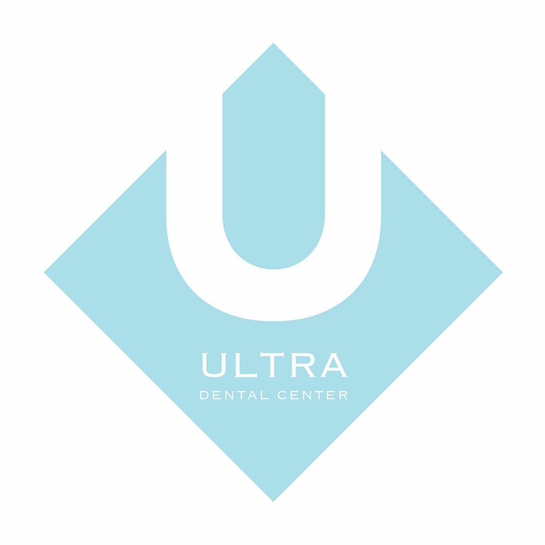 Ultra Dental Center Logo - Baby Blue