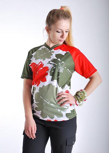 ChickenLine Jungle - Short Sleeve MTB Jersey