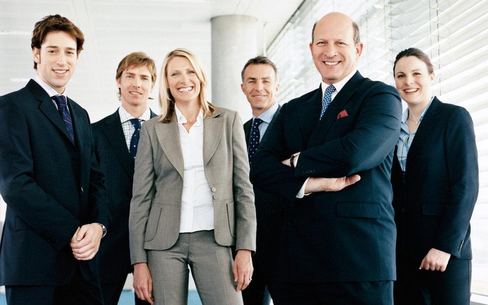 Geschäfts-Team