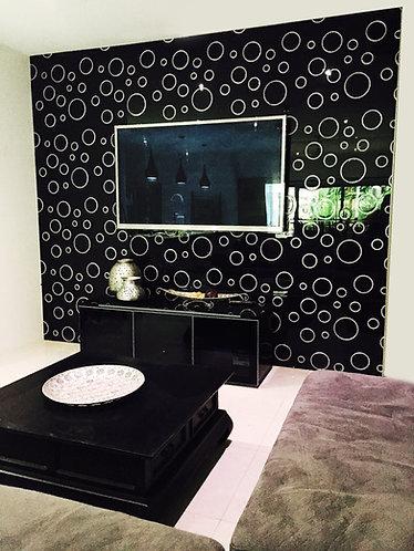 Stylish Circles Black