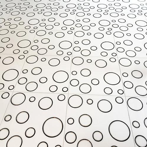 Stylish Circles White