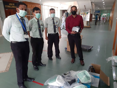 Powered Air-Purifying Respirators (PAPRs) For Hospital ICU
