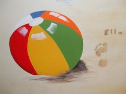 ball mural