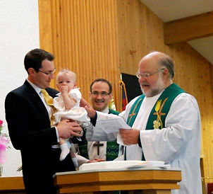 Baptism a Messiah Luthean Church