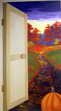 Door to fall image