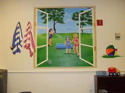Summer mural