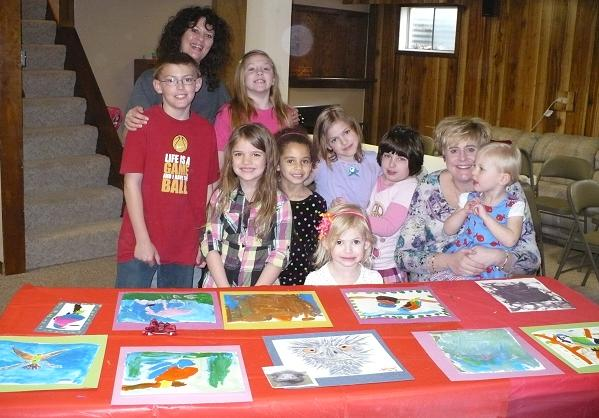 Childrens art party