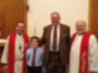 First Communion at Messiah Lutheran Church