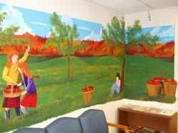 fall mural