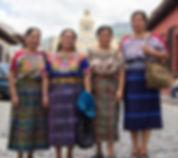 Guatemalan Board of Directors: Carmela, Candelaria, Rosa and Juana