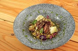 Smagen af efterår - opskrift på risotto med duebryst!