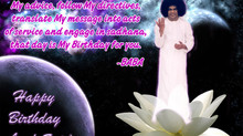 Beloved Lord Sai 89th Birth Anniversary