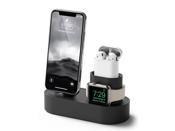 This multi-use charging station is one of the most useful secret santa gifts