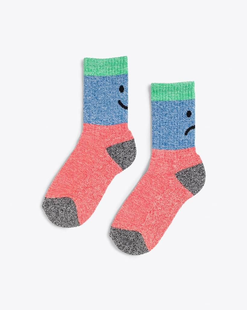 These moody socks are interesting gifts for white elephant.