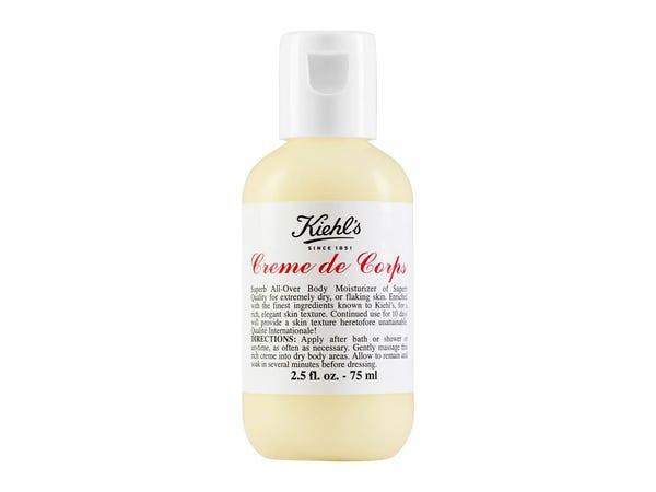 Kiehl's Creme de Corps lotions are practical secret santa gifts