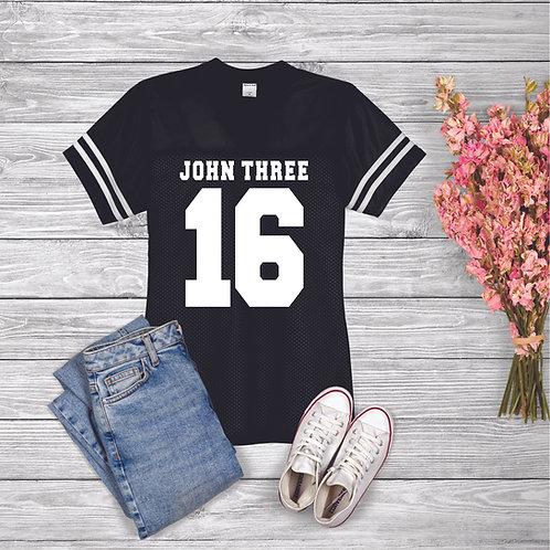 John 3:16 Replica Football Shirt