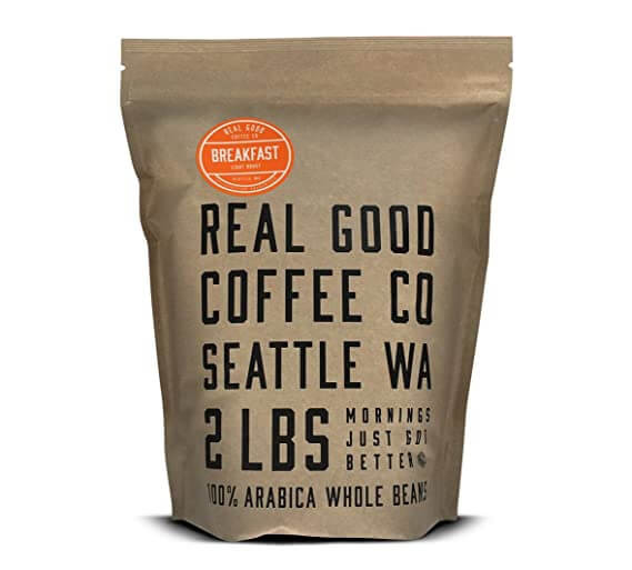 Real Good Coffee Co is sensible for your white elephant party.