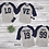 Thumbnail: Personalized Couples Matching LOVE Baseball Shirt (Together Since)