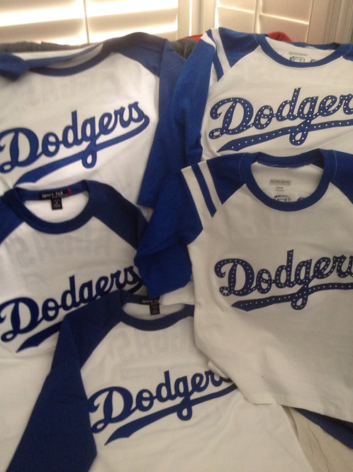 Unofficial Custom Dodgers Apparel