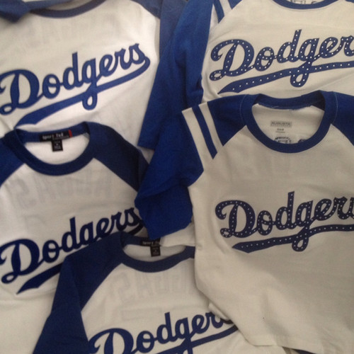 Unofficial Custom Dodgers Apparel 702256bdb