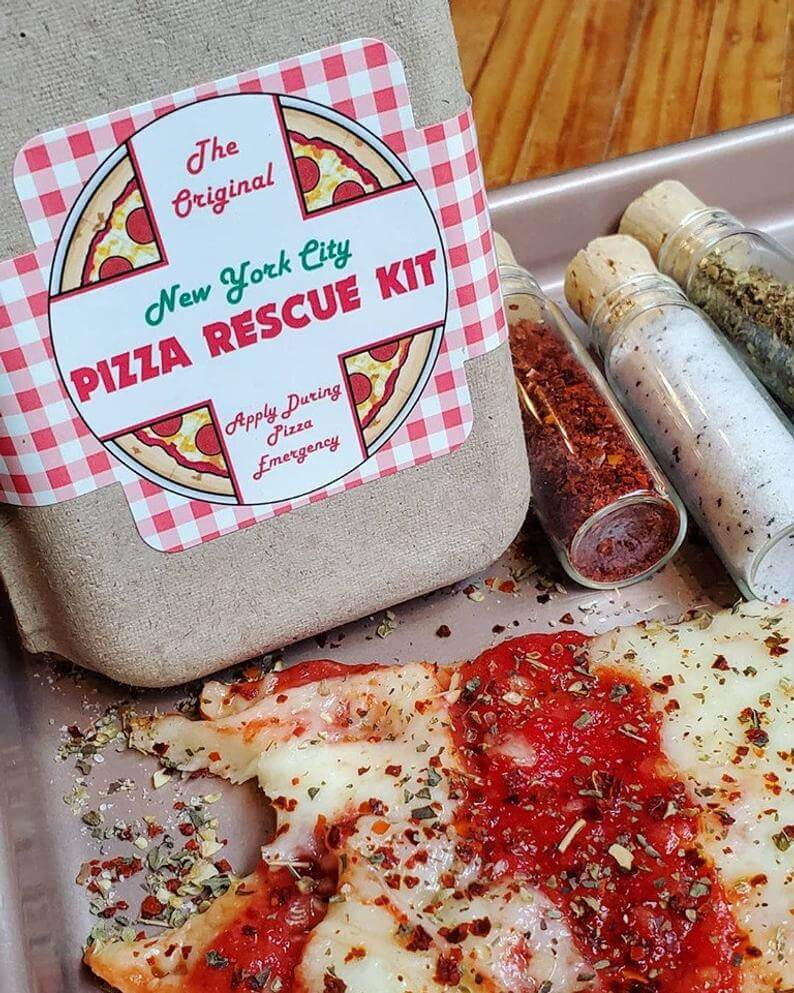 Pizza Rescue Kits are cool gifts for secret santa
