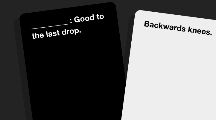 These cards are funny secret santa gifts