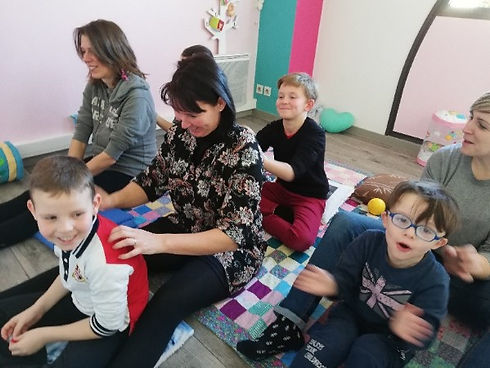 Massage parents-enfants - Poiré sur Vie
