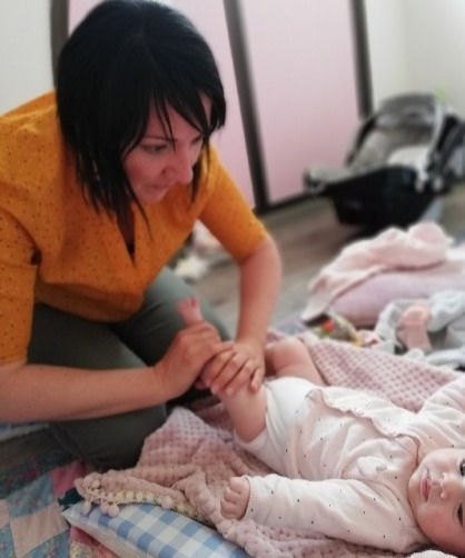 Massage parents-bébé - Poiré sur Vie - V