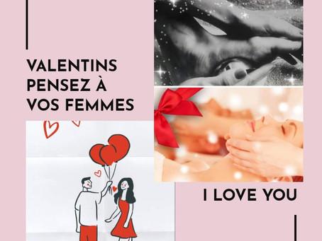 Saint- valentin pour les valentines