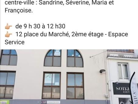 """PORTES OUVERTES DU CABINET DE L'ARBORESSENCE """" place du marché"""" espace service du poiré-sur vie"""