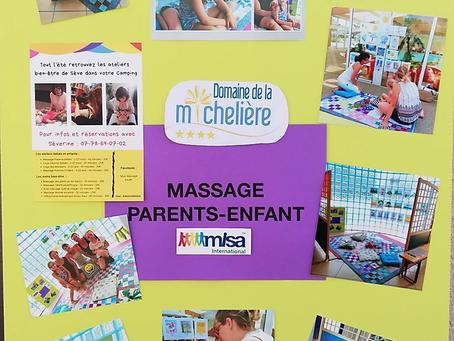 Les activités bien-être Enfants-parents de juillet et août 2019 au Domaine /Camping de la Michelière