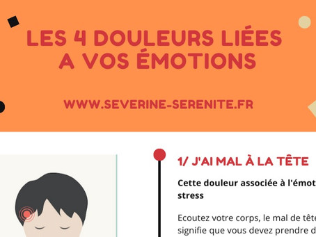 Massage Vendée (85) -Les douleurs et nos émotions