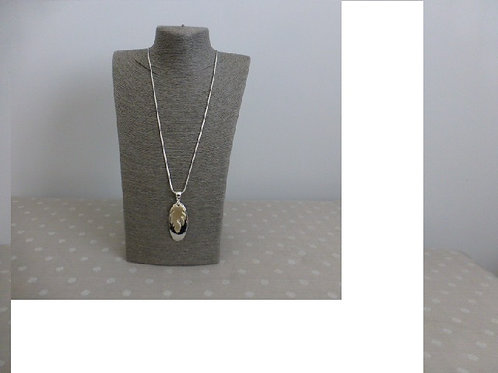 Long Two Tone Necklace
