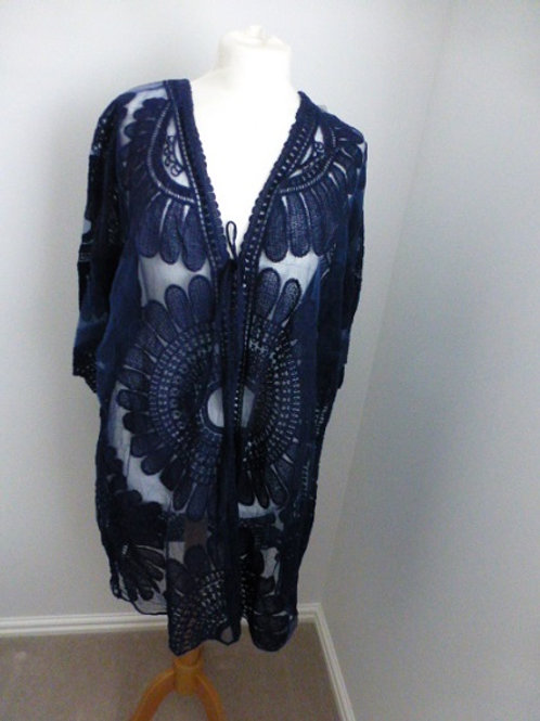 Lace Cardigan / Beach Cover Up