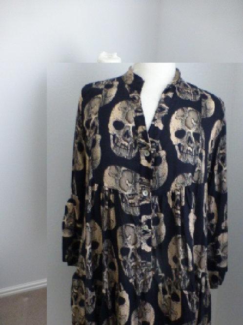 Skull Print Tunic