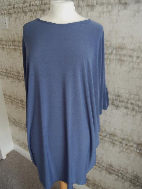 Denim Blue Batwing Tunic