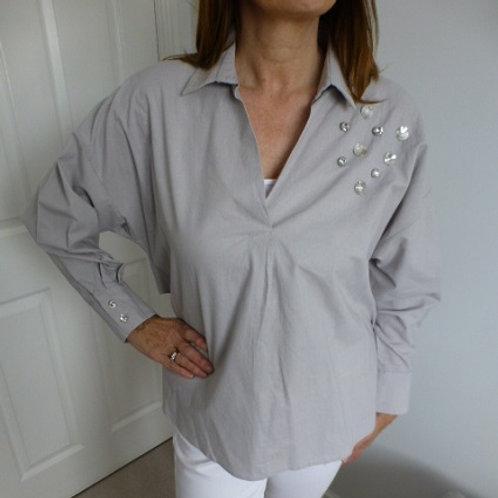 Mink Embellished Shirt