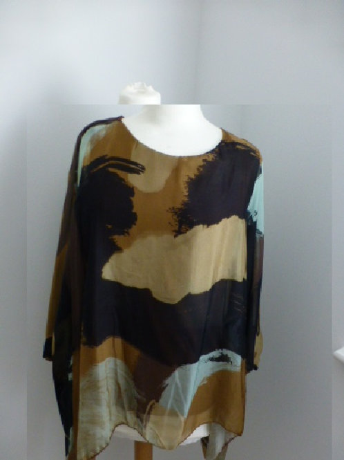 Silk one size top