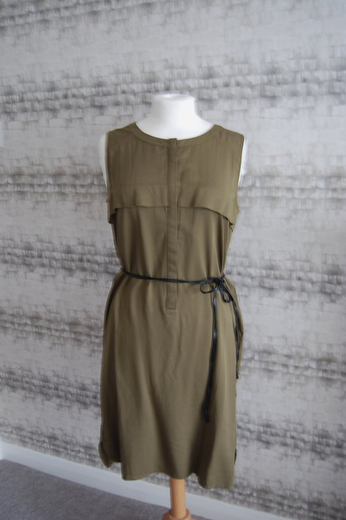 Khaki Green Dress
