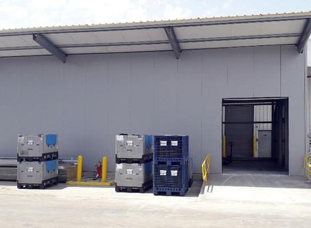 Novo armazém no Parque Industrial de Carrascas