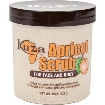 Kuza Apricot Face & Body Scrub 15oz