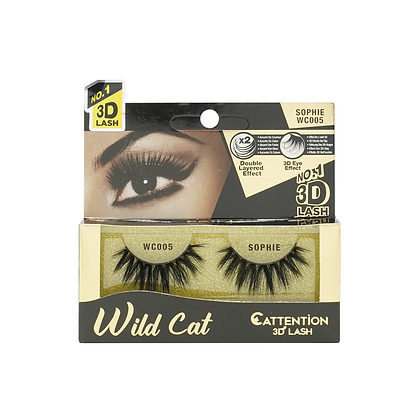 Ebin 3D Effect Eye Lashes Wild Cat